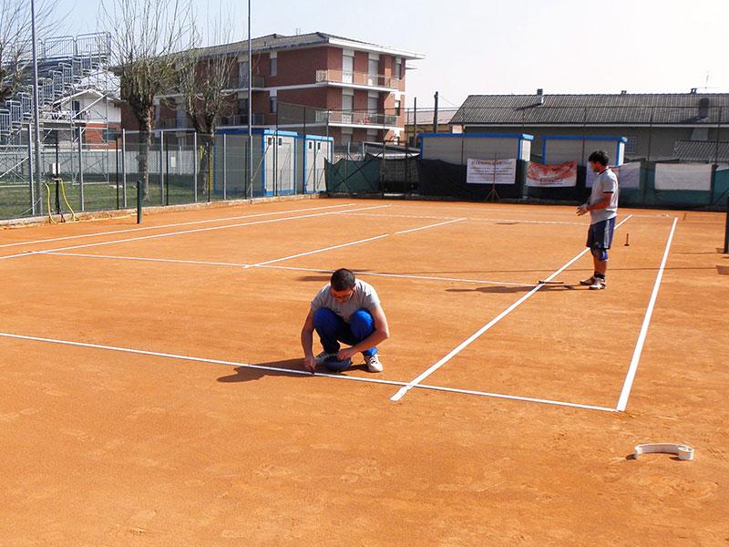 Progetto impianto illuminazione campo da tennis: marene progetto di